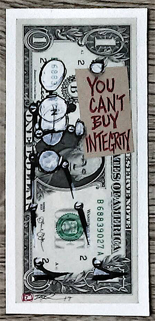 Integrity: Money For Sale #3