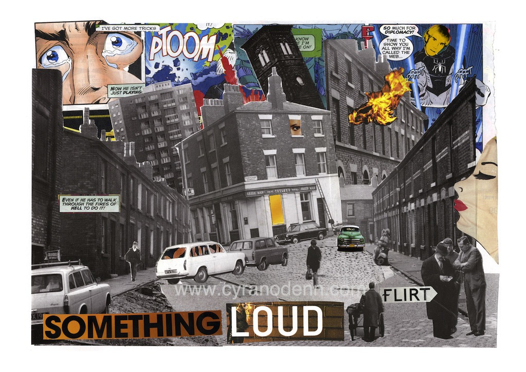 Something Loud – print