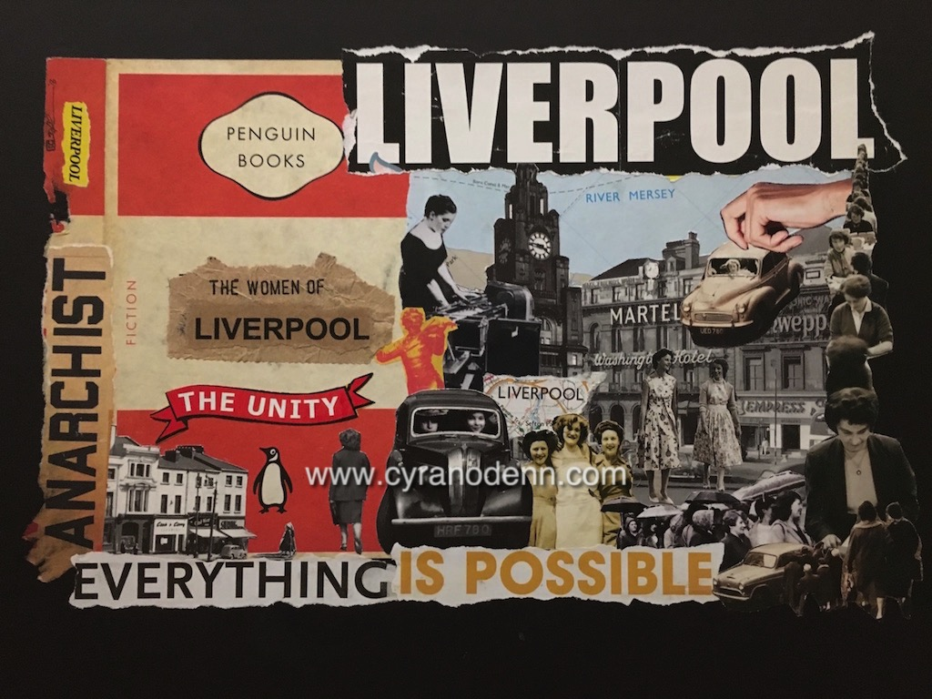 Women of Liverpool – print