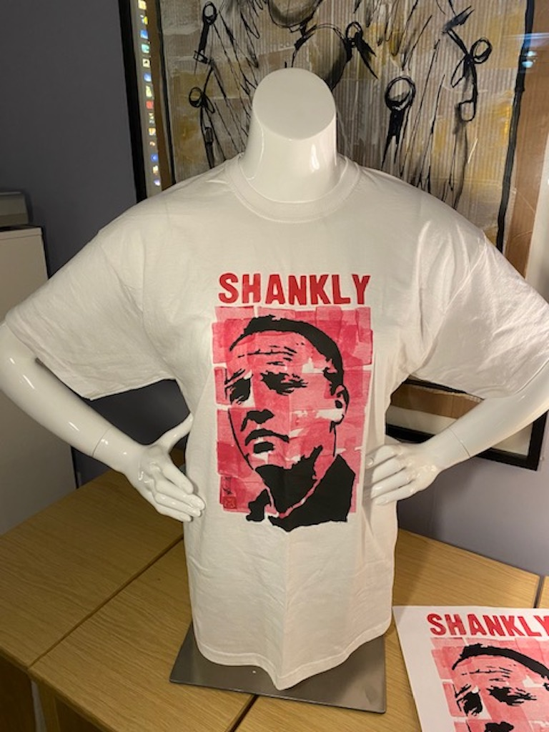 Shankly t-shirt