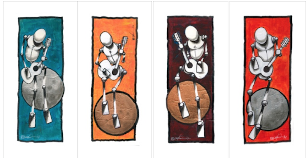 Major Tom Print Set